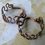 ZIGZAGS solid copper wire e..